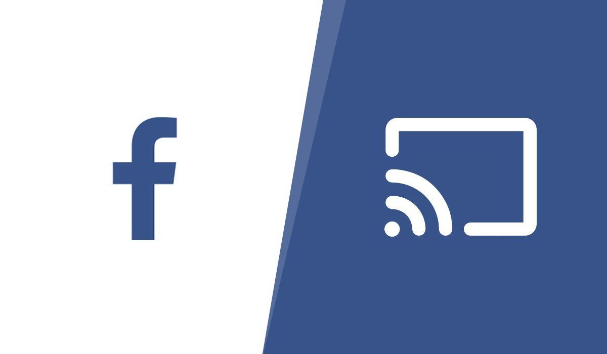 Una imagen para los videos de Facebook emitida a Chromecast