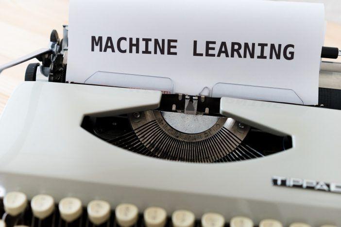 Aprendizaje automático en una máquina de escribir