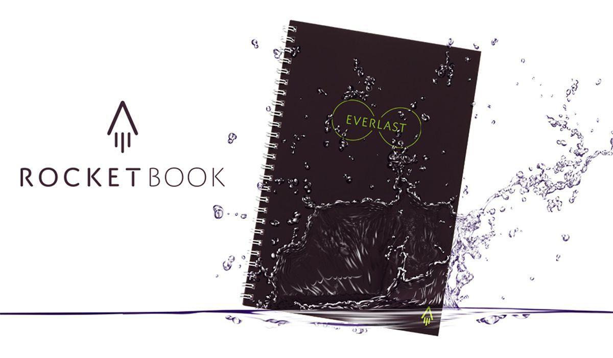 La escritura se transforma en alta tecnología con el portátil reutilizable Everlast de Rocketbook.